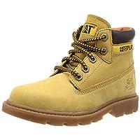 Caterpillar Boys Colorado Desert Boots, Yellow (Honey Reset), 1 UK (32.5 EU)
