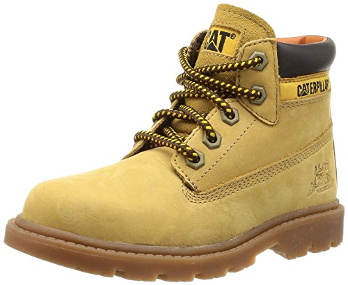 CAT Boys Colorado Desert Boots, Honey Reset, 4.5 UK