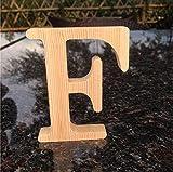 WDDqzf Skulptur Figur Dekoration Statuen 10 cm Hohe Holz Holz Buchstaben A Bis Z Alphabet Geburtstagsgeschenk Braut Hochzeit Hauptdekorationen Freestaning Brief