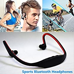 Vango Creations Bluetooth 4.0 Wireless Stereo Sport Headphones Headset Running, Jogging, Hiking, Exercise Hi-Fi Sound Compatible with Samsung Galaxy, Note, Edge, Gionee, Intex, Karbonn, Lenovo, Iphone, Nokia, Nexus, Oppo, Vivo, Coolpad, One Plus, Moto, Sony and All Android Mobiles Bluetooth Headset