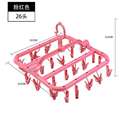 dsaaa-hanger-all-plastic-clothes-airer-more-clips-of-drying-racks-foldable-anti-slip-windproof-under