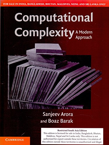 Computational Complexity A Modern Approach