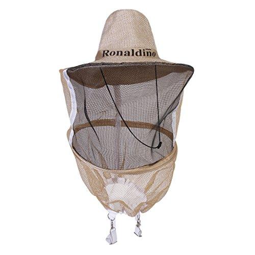 Chapeau en Maille Anti Moustique Anti Abeille Equipement de Protection Pour Apiculteur