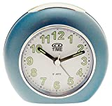 At Time Unisex White Alarm Clock A-708/7