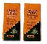ARGITAL - ARGILLA VERDE FINE 2 CONFEZIONI 2500 G,polvere fine per viso, corpo e capelli
