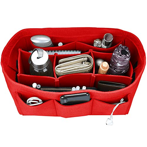 642f07d737d6 Felt Purse Insert Organiser, Handbag Organiser, Bag in Bag for Handbag  Purse Tote,