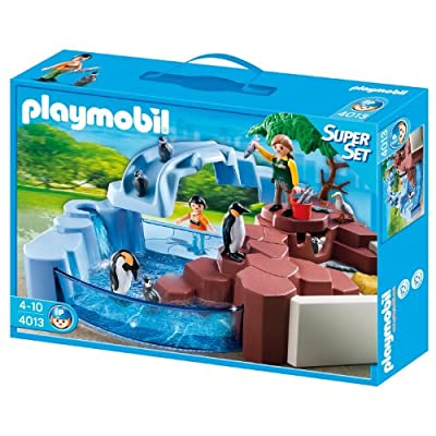 Zoo: superset piscina pingüinos de Playmobil (4013)