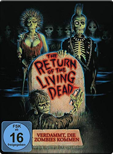 Return of the living Dead - Verdammt, die Zombies kommen - Steelbook [Blu-ray]