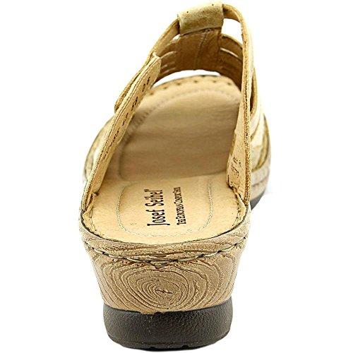 Josef Seibel Claudia Femmes Cuir Sandale Sable