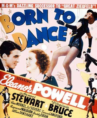 born to Dance 1936 - Tappetino per il (Tipo Movie Poster)
