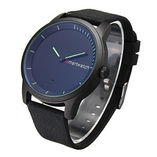 EsportsMJJ Da Polso Smart Watch Sport Fitness Impermeabile Bluetooth Orologio Per iPhone Ios Android Di Samsung Xiaomi-Nero