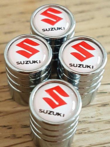 suzuki-rouge-blanc-chrome-haut-luxe-bouchons-de-valve-enjoliveurs-exclusive-de-nous-tous-modeles-cle