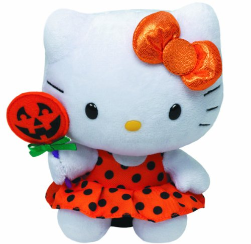 Hello Kitty Baby - Halloween, Orange Dress + Pumpkin - 15 cm 6""
