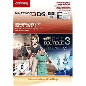 Nintendo präsentiert: New Style Boutique 3 | 3DS – Twister Parent