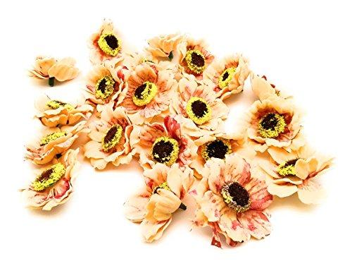 Satyam Kraft Colourful Artificial Foam Mullberry Flower New : 20 pcs Flower...