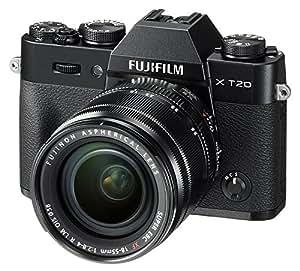 w/ XF18-55mm , Black , Base : Fujifilm X-T20 Mirrorless Digital Camera w/XF18-55mmF2.8-4.0 R LM OIS Lens - Black