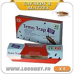 Trampas de cucarachas caja de 5 trampas de olor atractivo y libre de venenos