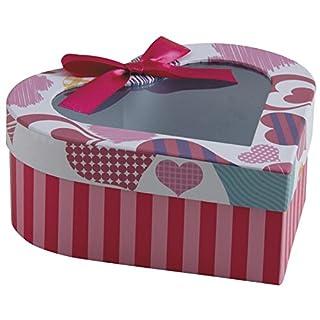 Aubry Gaspard Geschenkbox aus Karton (Herz)