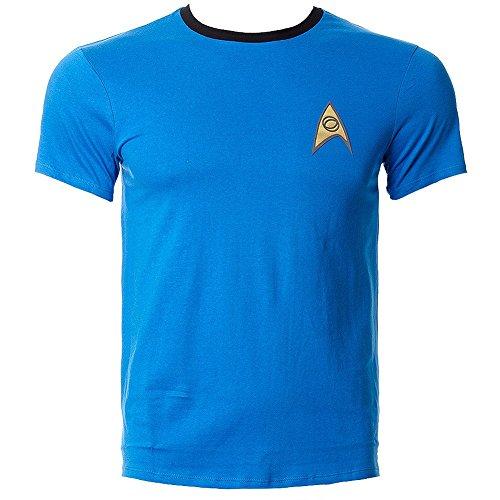 Shirt (Blau) - Medium (Star Trek Uniform Shirt)