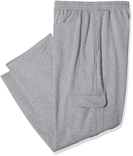 Urban Classics Herren Hose Cargo Sweatpants Grau