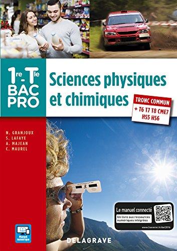 Sciences physiques et chimiques 1re,Tle Bac Pro - Pochette élève PDF
