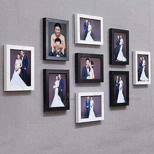 ArtzFolio Wall Photo Frame Multicolor 6x8-9pc;Set of 9 PCS