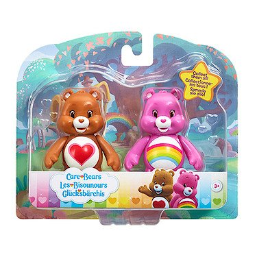 vivid-imaginations-cheer-bear-and-tenderheart-bear-care-bears-figures-multi-colour