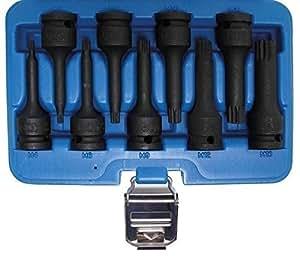 Bgs Force Bit utilisation Set, grand M4à dents à l'intérieur–16, 12,5mm, 9pièces, 1pièce, 5482