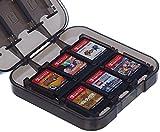 AmazonBasics - Aufbewahrungsbox für Spiele der Nintendo Switch - Schwarz