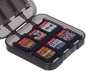 AmazonBasics - Custodia porta cartucce di gioco per Nintendo Switch - Nero