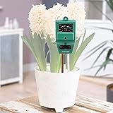 Neewer® 3-en-1 Plant Fleur PH Testeur de Sol / Humidimètre / Luxmètre Hydroponique