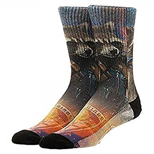 Preisvergleich Produktbild Marvel Guardians of the Galaxy 2 Rocket Sublimated Crew Socken