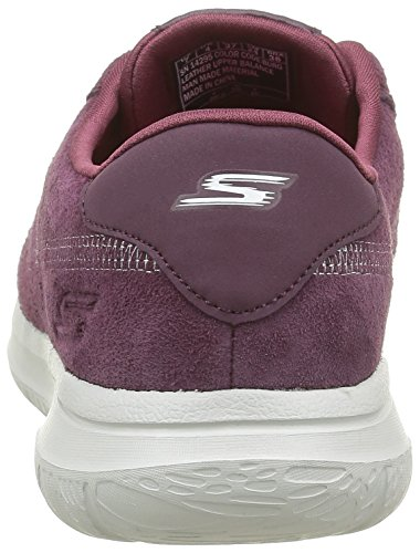 Skechers On the GO City Posh, Baskets Basses Femme rouge (BURG)