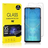 LG G7 ThinQ Screen Protector, Bear Village® Tempered Glass Screen Protector, 9H Hardness Screen Protector Film for LG G7 ThinQ, 2 Pack