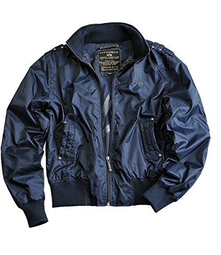 Alpha Industries Hawk Übergangsjacke Black Blue