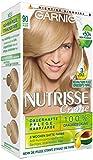 Garnier Nutrisse Creme Coloration Hellblond 90, Färbung für Haare für permanente Haarfarbe (mit 3 nährenden Ölen) - 1 Stück
