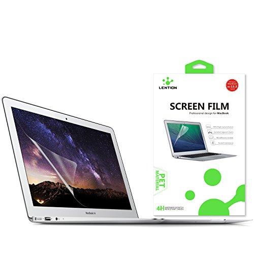 Lention Cloudless Screen Protector Displayschutz für MacBook Air (13 Zoll, Mitte 2009 bis 2017) - Modell A1369 / A1466, HD Schutzfolie mit hydrophober oleophober Beschichtung