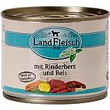 LandFleisch | Pur mit Rinderherz und Reis | 12 x 195 g