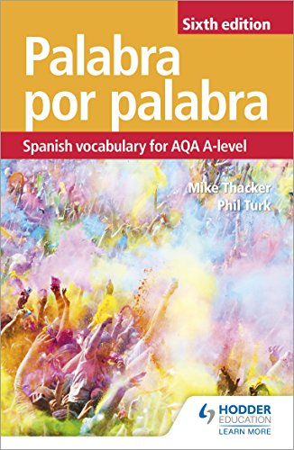 Palabra por Palabra Sixth Edition: Spanish Vocabulary for AQA A-level (Vocabulary for Aqa a Level) (English Edition)