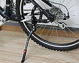 MINGZE Aluminiumlegierung verstellbarer Fahrradständer, Mountainbike für 24 - 28 Zoll Fahrräder