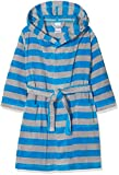 Sanetta Jungen Bademantel Bathrobe-232193.0 Blau (Glacier Blue 5879.0) 116