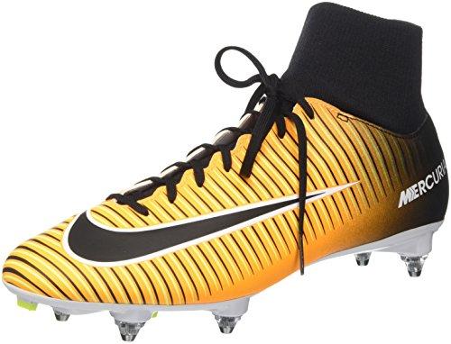 Nike Herren Mercurial Victory Vi Df Sg Fußballschuhe, Laser Orange/Black/White/Volt, 41 EU