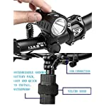 Nestling-Luce-della-Bicicletta-USB-Ricaricabile-Set-Super-Luminoso-1200-Lumens-Luce-Fanale-Anteriore-della-Bicicletta-4-modalit-di-Luce