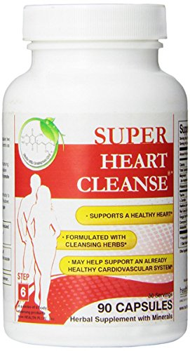 Health Plus Heart Cleanse Total Body Cleansing System -- 90 Capsules by Health Plus (English Manual)