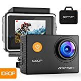 APEMAN Sports Action Camera 12MP Full HD 1080p Action Cam Wasserdichte Action Kamera...