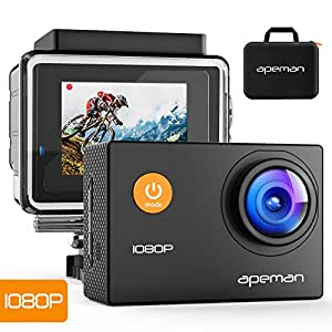 apeman sports action camera 12mp full hd 1080p action. Black Bedroom Furniture Sets. Home Design Ideas