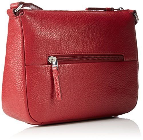 Bree - Faro 1, Borsa a tracolla Donna Rosso (Rot (brick red 160))