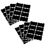 Sharplace 80 Stück Tafel Aufkleber Selbstklebend Wandaufkleber für Gläser und Flaschen, Organisieren, Beschriften und Hochzeiten, mit Gratis Geschenke - Farbe 2, 5x3.5cm