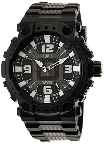 Q&Q Regular Analog Black Dial Men's Watch - GW82J001Y image