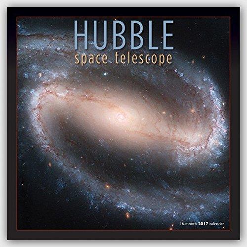 Hubble Space Telescope 2017 - 12-Monatskalender: Original BrownTrout/Wyman Publishing-Kalender